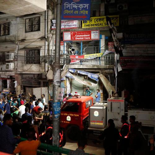 Seven killed, many injured in blast in Bangladesh