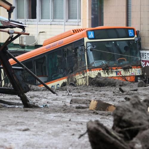 Eighty missing after Japan landslide, search races time, weather