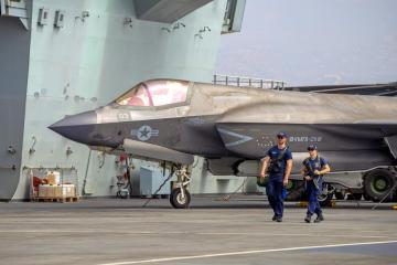 Photo Story: British aircraft carrier HMS Queen Elizabeth in Cyprus