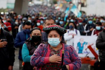 Protests in Guatemala over lack of commitment in fighting corruption