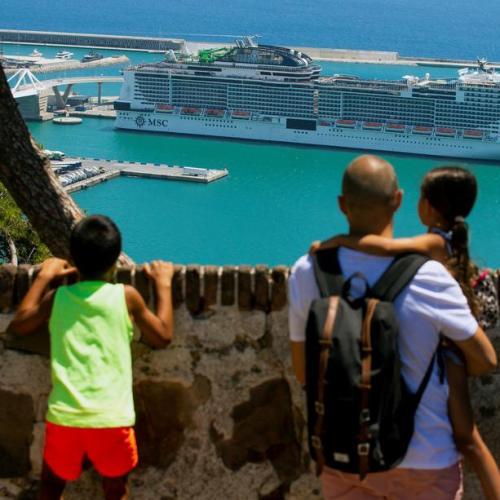 Photo Story: Passengers on board MSC Grandiosa cruise ship test positive for COVID-19