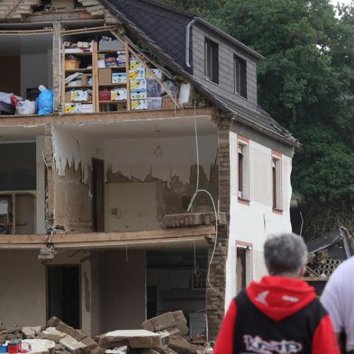 UPDATED: Germany sets out flood relief funding, hopes of finding survivors fade