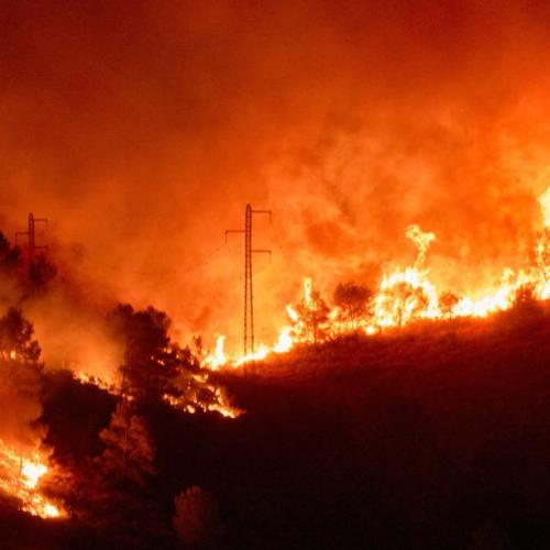 Photo Story: Forest fire in Catalonia