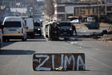 Violence spreads in South Africa as grievances boil over