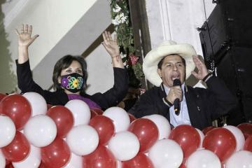 Peru's Castillo assumes presidency amid political storms in divided nation