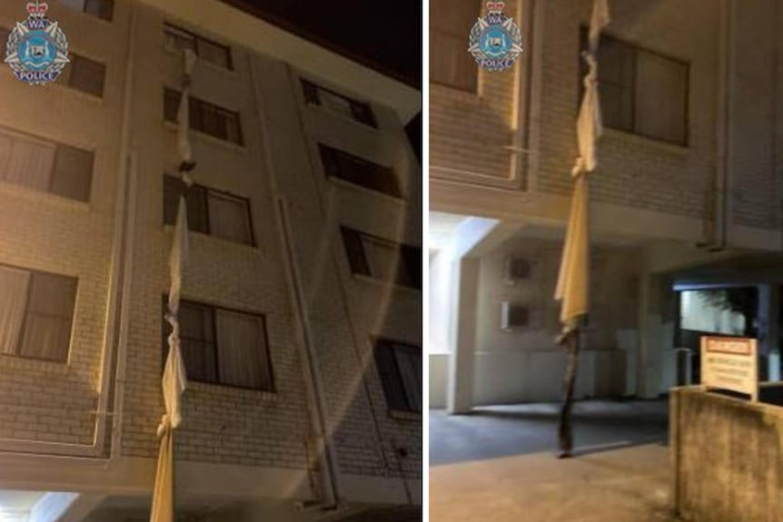 Australia man ties bedsheets together to escape 4th floor hotel quarantine – police