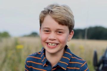 Photo to mark eighth birthday of Prince George