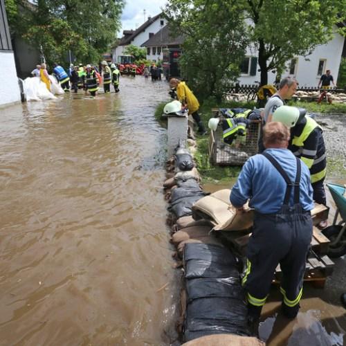 Bavaria hit by fresh flash-floods as German death toll climbs to 156