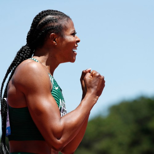 Nigerian sprinter Okagbare suspended after failing drugs test