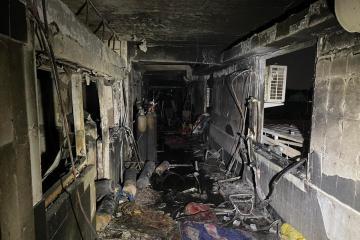 At least 44 killed, 67 injured in coronavirus hospital fire in Iraq
