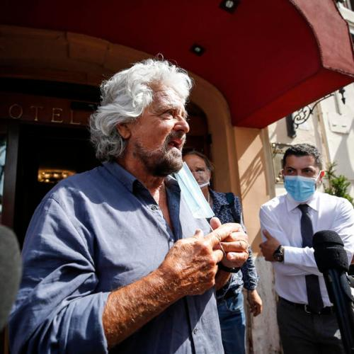 Italy's 5-Star founder, former PM mend rifts, agree to relaunch party