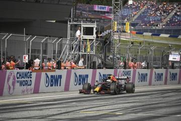 Verstappen cruises to Austrian GP win and control of F1 title race