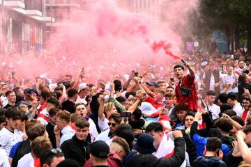 Police release images of 10 men sought for violence, disorder at Euro 2020 final