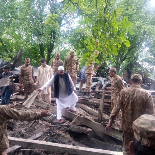 Photo Story – Flash floods in Azad Kashmir, Pakistan
