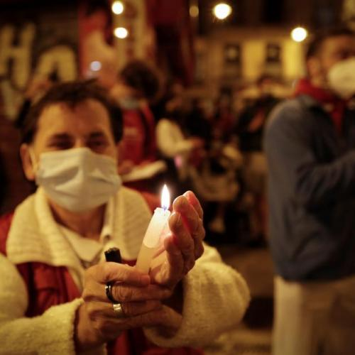 Photo Story – Pamplona residents hope for a normal Sanfermines festival in 2022