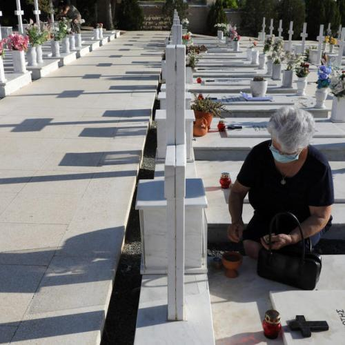 Photo Story – Memorial for soldiers killed in the Cyprus 1974 Turkish invasion