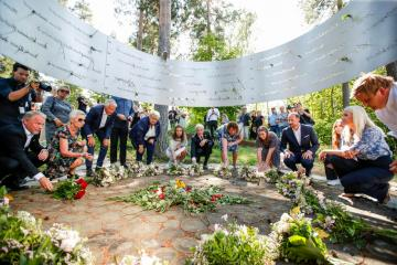 Photo Story – 10-year commemoration of the 2011 terrorist attacks in Norway