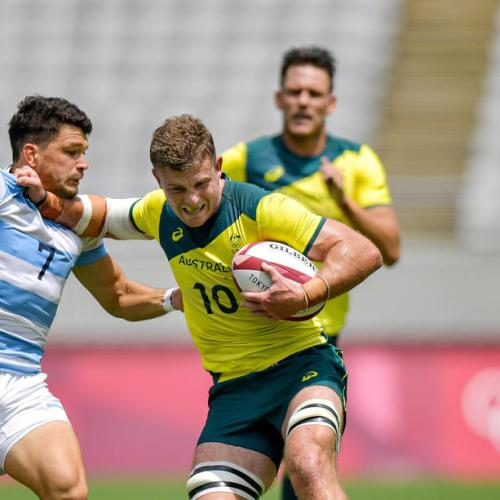 Olympics-Rugby-Australia advance in Sevens but mighty Fiji await in quarter-finals