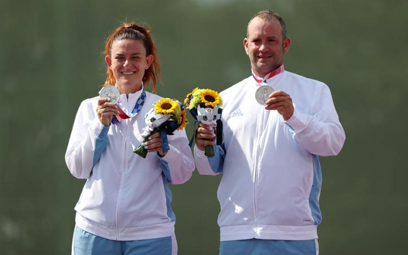 Olympics – Spain takes gold, San Marino silver in  mixed Trap Shooting
