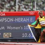 Olympics Athletics – Thompson-Herah scorches to 100m glory, closes on Flo-Jo