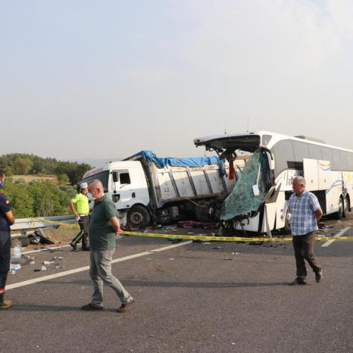 Photo Story: Fatal traffic accident in Turkey