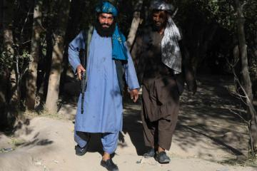 Taliban hang up bodies of alleged kidnappers in Afghan city