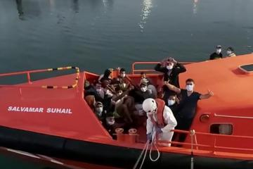 Up to 48 missing after boat capsizes off coast of Senegal