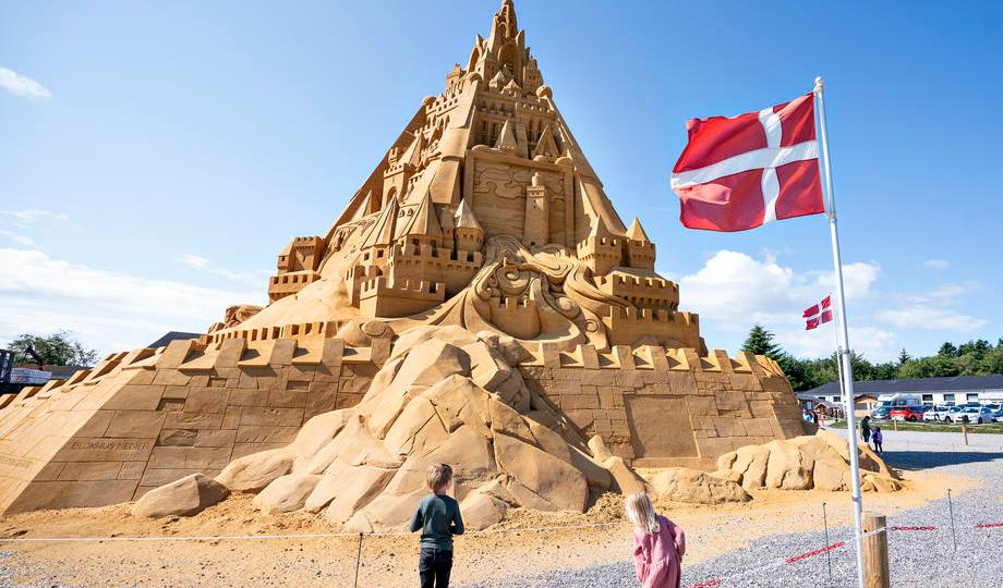 Photo Story: The largest sandcastle in the world