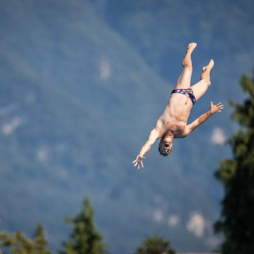 Photo Story: The Lugano Cliff Diving
