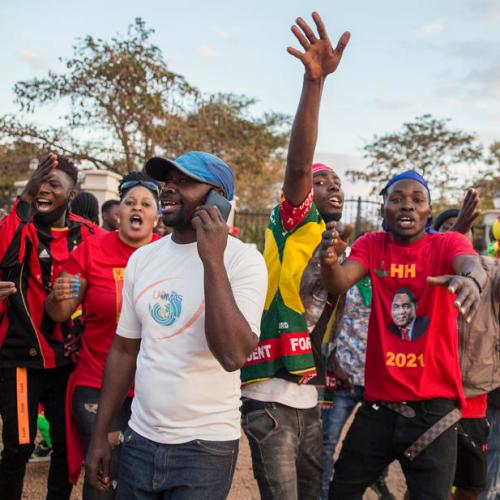 Zambia opposition leader Hichilema wins landslide in presidential election