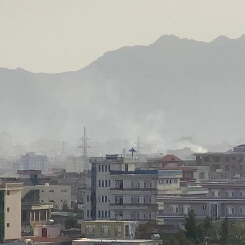 U.S. drone strike destroys Islamic State car bomb in Kabul, officials say