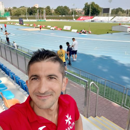 Deaflympian George Vella with two remarkable performances in World Deaf Athletics Championships