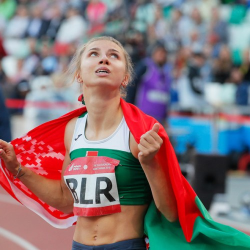 Belarus athlete will fly to Poland after refusing orders to go home