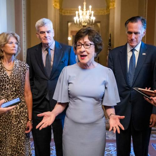 At least 10 Republicans likely to support infrastructure bill-Senator Collins