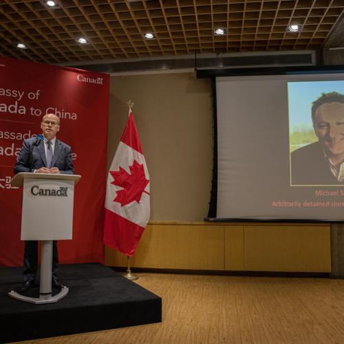 Chinese court sentences Canadian Spavor to 11 years in espionage case