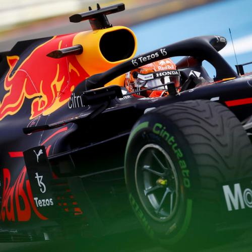 Verstappen spins but sets the pace in practice for Belgian GP