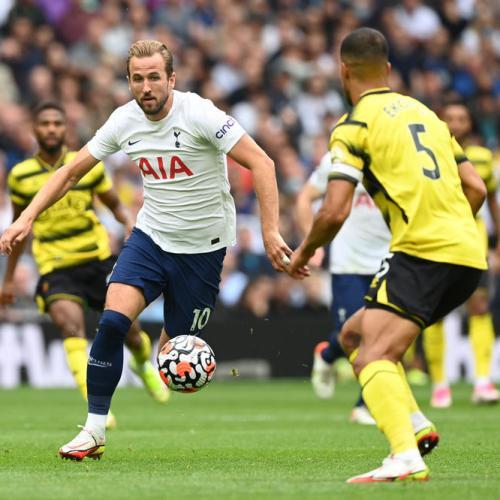 Spurs go top of Premier League after Son sinks Watford