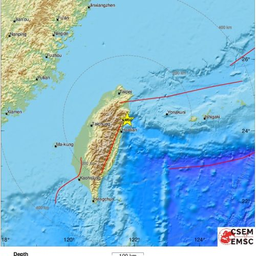 Quake of magnitude 5.7 strikes Taiwan -EMSC