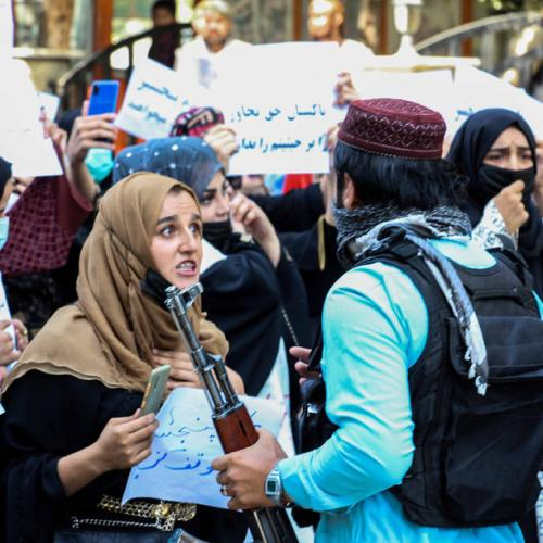 Afghan protests persist, posing a problem for new Taliban government