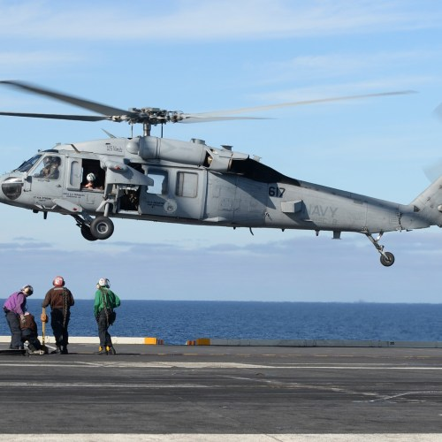 Five U.S. Navy helicopter crew members declared dead after crash off San Diego coast