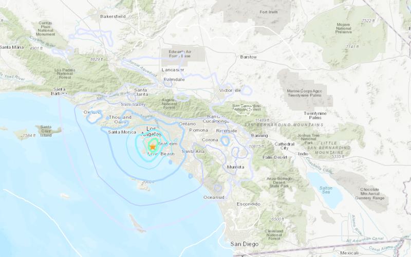 Magnitude 4.4 earthquake rattles Los Angeles area