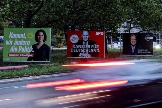 How politicians reacted after exit polls from Germany's election