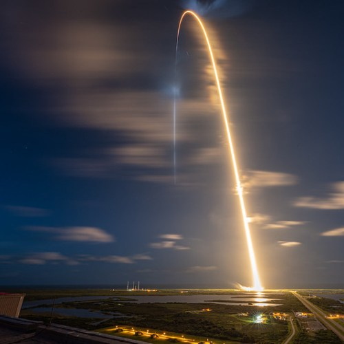 First all-civilian crew launched into orbit aboard SpaceX rocket ship