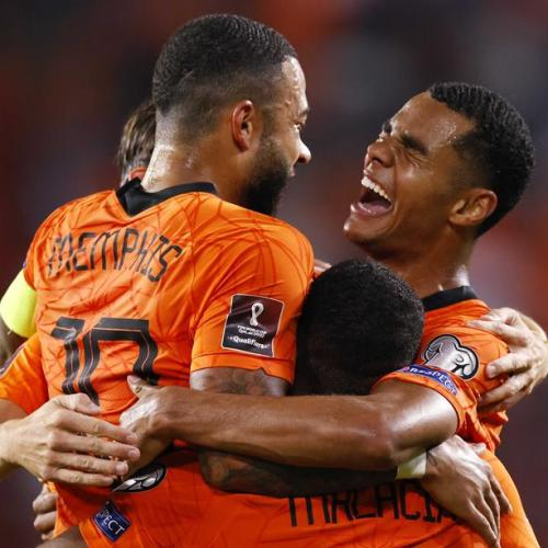 Depay at the double as Dutch cruise to win over Montenegro