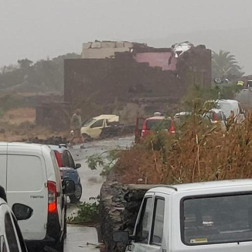 In Pictures – Tornado hits Italy's Pantelleria island, killing two people