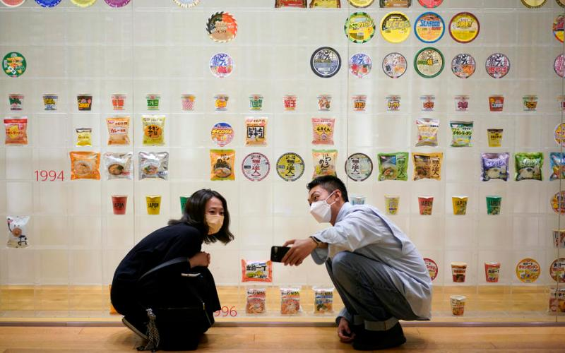 Photo Story – The 50th anniversary of the Cup Noodles launch, in Yokohama