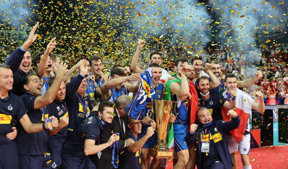 Italy's sport glorious summer continues after winning Men's EuroVolley for seventh time