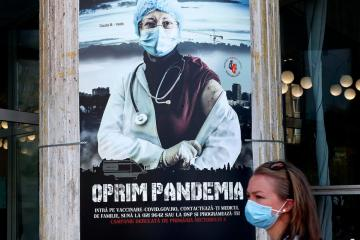COVID-19 cases recorded in eastern Europe hit 20 million