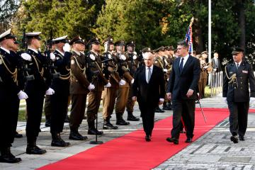 Photo Story: President of Republic of Malta George Vella visits Zagreb