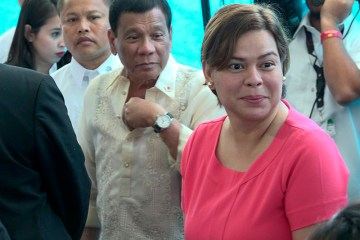 Philippines' Duterte says daughter running for president in 2022 elections